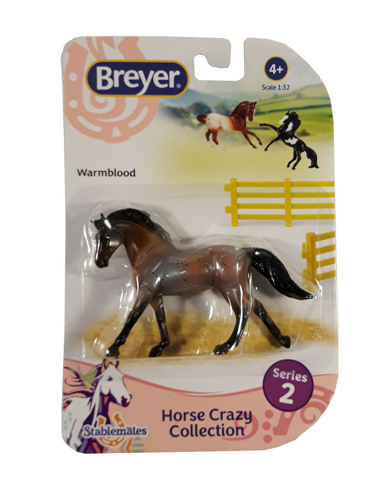Breyer Stablemates Horse Crazy: Warmblood Figurine New in Package - $9.88
