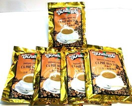 Vinacafe 3-In-1 Instant Vietnamese Coffee 20 Sachets x 20 g ( Pack of 5 ) - $23.91