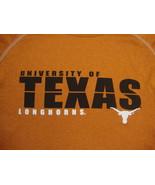 NCAA Texas Longhorns College University School Fan Soft Polyester T Shirt S - $17.71