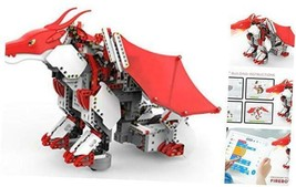 JIMU Robot Mythical Series: Firebot Kit/ App-Enabled Building & Coding S... - $137.28