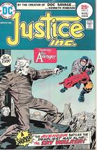 Justice Inc. Comic Book #2, DC Comics 1975 VERY FINE- - $9.74