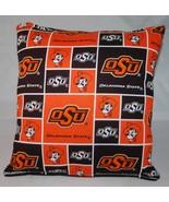 OSU Pillow NCAA Oklahoma State OSU Pillow Handmade In USA - $9.99