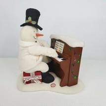 Hallmark Jingle Pals Plush Piano Playing Snowman Animated Motion Lights ... - $69.25