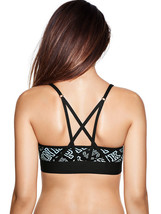 Victoria's Secret PINK Ultimate Strappy Back Sports Bra Blue Black Ombre... - $19.99