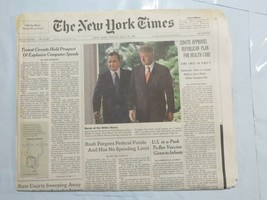 The New York Times 1999 July 16 Clinton Prospect of Explosive Computer S... - $39.99