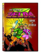 The Legend of Zelda Havoc in Hyrule DVD