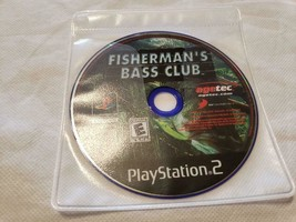 Fisherman's Bass Club PS2 Playstation 2 - GAME DISC ONLY - $4.95