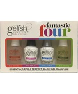 Gelish Fantastic Four 0.5 oz FULL COLLECTION ,NO BOX 2-3 days delivery ! - $31.67