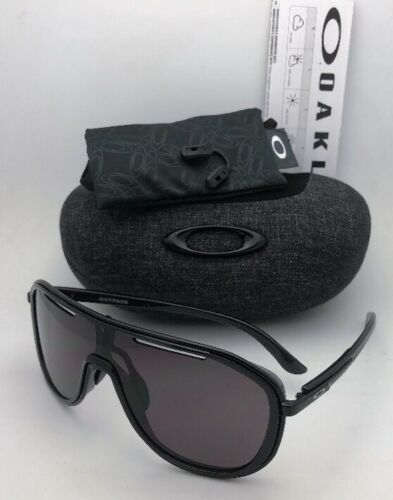 New OAKLEY Sunglasses OUTPACE OO4133-01 Black Ink-Black Frame w/ Warm Grey Lens