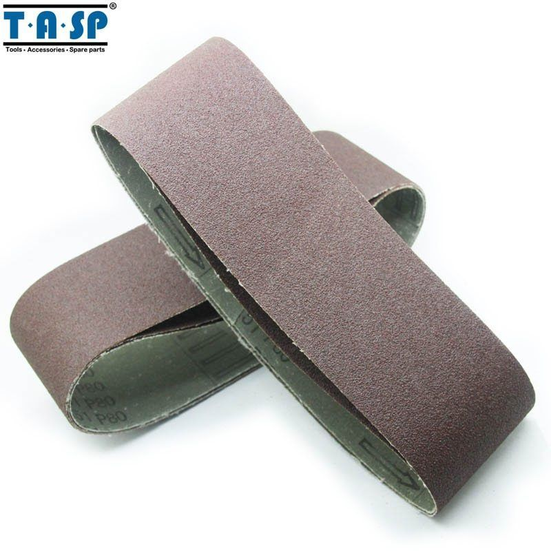 "Primary image for TASP® 15pcs/Set 3""x21"" Belt Sander Sandpaper 75x533mm Abrasive Aluminium Oxide"