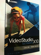 Corel VideoStudio Ultimate X10 Video Editing Suite for PC NEW! - $37.61