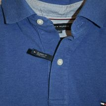 Tommy Hilfiger Men's Classic Fit Blue Collared Polo Shirt Size S image 3