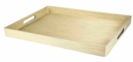 Home Basics Metallic Weave Serving Tray, Gold - ST44769 - $29.69