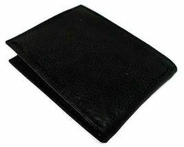 Tommy Hilfiger Men's Premium Leather Credit Card Wallet Slim Black 4707-01 image 4