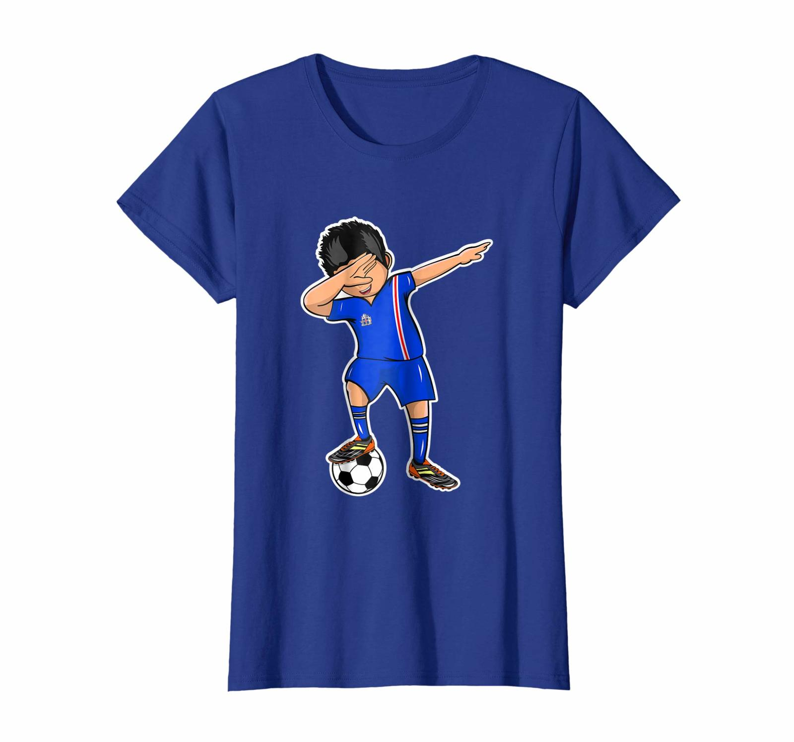 New Shirts - Dabbing Soccer Boy Iceland Jersey T Shirt Football Fan Wowen