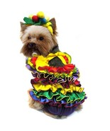 High Quality Dog Costume - CALYPSO QUEEN COSTUMES Colorful Carnival Dres... - $55.33+