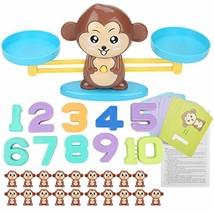 Yosooo Math Match Game Board Toys Monkey Match Balancing Scale Number Co... - £39.65 GBP