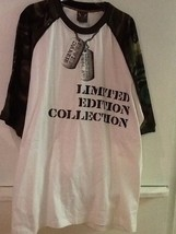 212 NYC T Shirt 3XL Limited Edition Collection Camouflage 100% Cotton NW... - $17.95