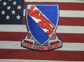 US ARMY 508th Airborne Infantry Regiment Fury From The Sky Pocket Patch c/e - $10.00
