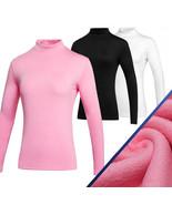 Simier Long Sleeve Golf Clothes for Women Base Shirt black_XL - $35.37