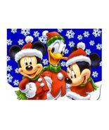 Mickey Mouse Christmas Edible Cake Image Cake Topper - $8.98+