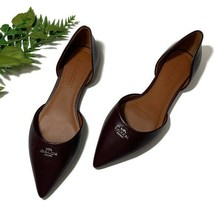 Coach Pointed Toe Leather d' Orsay Flat Women's Sz 7 - $147.25