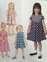 Butterick Sewing Pattern 6314 Girls Dress Size 2-5 New - $16.76