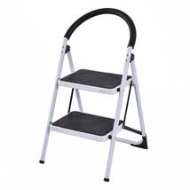 Folding Stool Heavy Duty Industrial Lightweight Commercial 2 Step Ladder... - $53.13