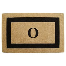 """Heavy Duty 22"""" x 36"""" Coco Mat Black Single Picture Frame, Monogrammed O - $49.12"""