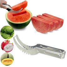 Watermelon Cutter Knife Cucumis Melon Cutter Chopper Fruit Salad Cucumber - €7,87 EUR