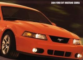 2004 Ford SVT MUSTANG COBRA deluxe sales brochure catalog 04 NICE - $15.00