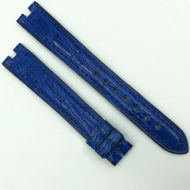 Authentic Cartier 14mm Blue Leather Strap 5801D07OCCL - $199.00