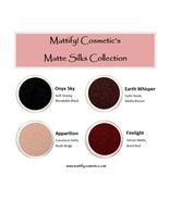 Fall Eyeshadow Colors Matte Brown Black Red + Shimmery Nude Winter Eye M... - $12.13