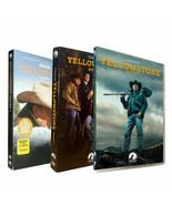 Yellowstone Complete Series Season 1 2 3 (DVD ,12-Disc Set) Brand New - $23.99