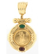 1996 american gold eagle Women's 14kt Yellow Gold Pendant - $999.00