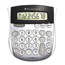 Texas Instruments TI-1795 SV Standard Function Calculator 2-Pack - $27.98