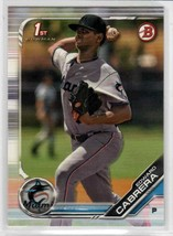 2019 Bowman Prospects Edward Cabrera #BP-114 Miami Marlins - $0.89