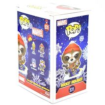 Funko Pop! Marvel Christmas Holiday Rocket Raccoon #531 Vinyl Bobble-Head Figure image 4