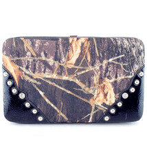 Texas West New Style Rhinestone Camouflage Wallet In Multi Colors - $22.99
