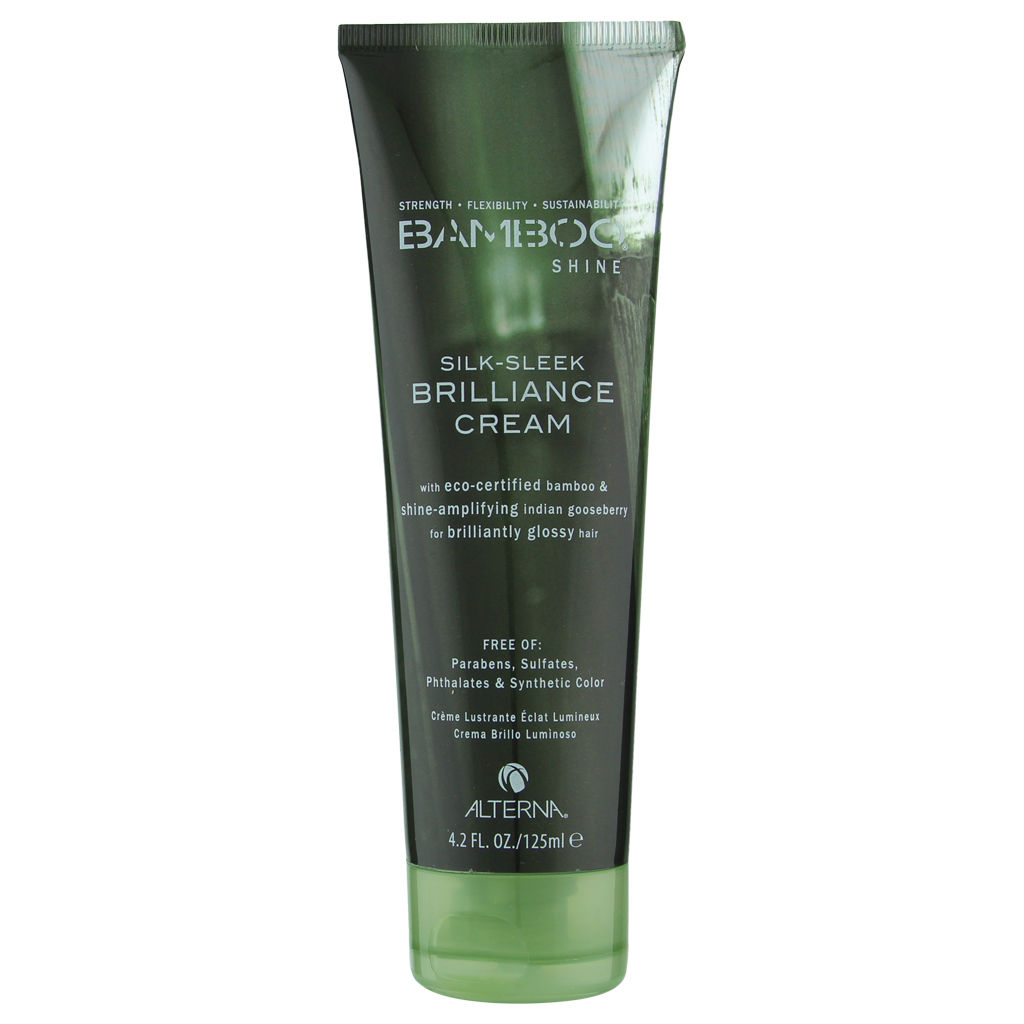 Alterna Bamboo Shine Silk-Sleek Brilliance Cream 4.2 oz / 125 ml  - $17.82