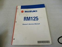Suzuki 2007 RM125 Owner's Service Manual P/N 99011-36F56-03A - $13.09