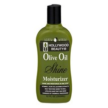 HOLLYWOOD BEAUTY Olive Oil Shine Moisturizer Shine and Moisturizer in On... - $9.74