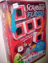Hasbro Electronic Scrabble Flash Word Game 2010 New - $24.74