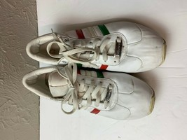 Rare Adidas MEXICO Sneakers Men's US 10.5 Tennis Shoes Low Tops White Gr... - $28.01