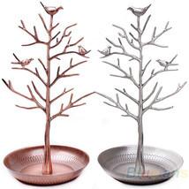 Jewelry Holders vintage Bird Tree Earring lace Ring Display 03XU - £24.60 GBP