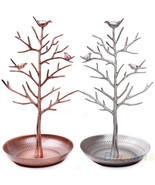 Jewelry Holders vintage Bird Tree Earring lace Ring Display 03XU - €25,47 EUR