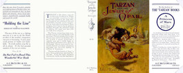 Edgar Rice Burroughs TARZAN AND THE JEWELS  OF OPAR facsimile jacket - 1... - $21.56