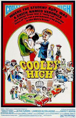 Primary image for Cooley High - 1975 - Movie Poster
