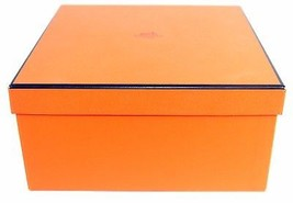 "100% Authentic HERMES Box Only Square Size 9"" × 9"" × 4.5"" Excellent Condition - $74.25"