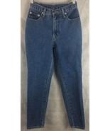 NY Jeans New York and Company Straight Leg Slim Denim Blue Jeans Ladies ... - $13.81